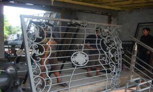 perbaikan perawatan pagar tempa
